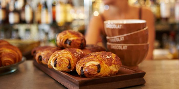 Chocolate Croissants from Cafe & Bar Gavroche on Tras Street in Tanjong Pagar, Singapore
