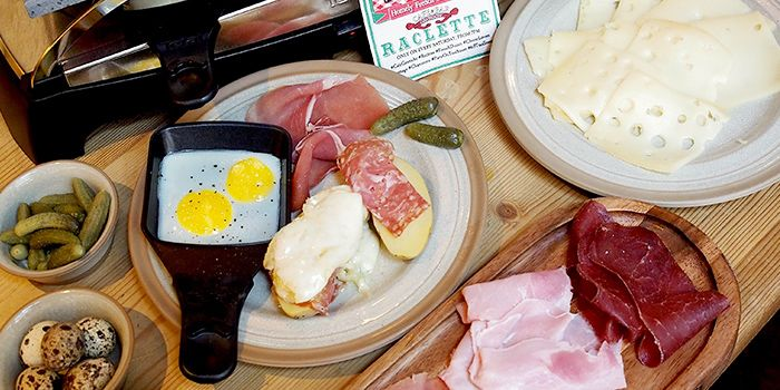 Raclette from Cafe & Bar Gavroche on Tras Street in Tanjong Pagar, Singapore