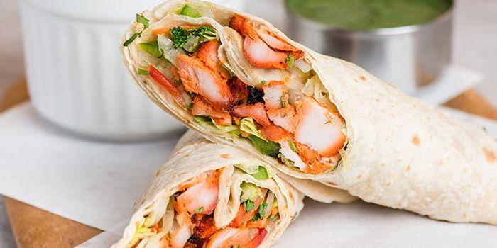 Chicken Tikka Wrap from Zaffron Kitchen (Westgate) in Jurong East, Singapore from Zaffron Kitchen (Westgate) in Jurong East, Singapore