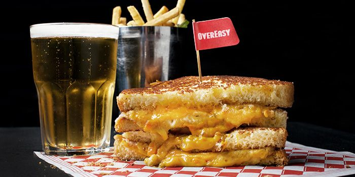 Grilled Cheese from OverEasy in Fullerton, Singapore