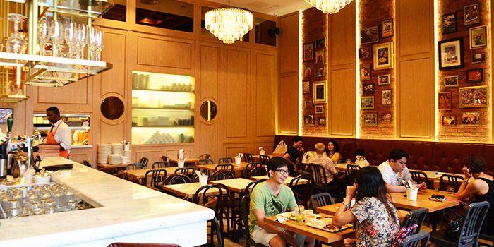 Interior of Zaffron Kitchen (Westgate) in Jurong East, Singapore from Zaffron Kitchen (Westgate) in Jurong East, Singapore