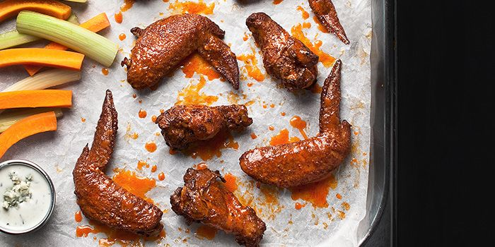 Spicy Wings from OverEasy in Fullerton, Singapore