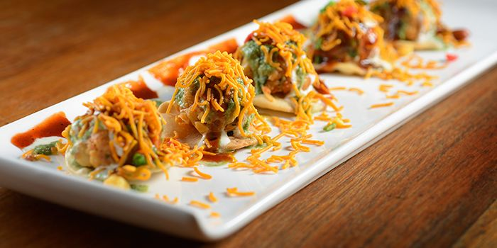 Papdi Chaat from Zaffron Kitchen (East Coast) in East Coast, Singapore