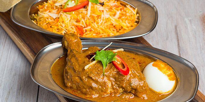 Chicken Biryani from Zaffron Kitchen (Westgate) in Jurong East, Singapore