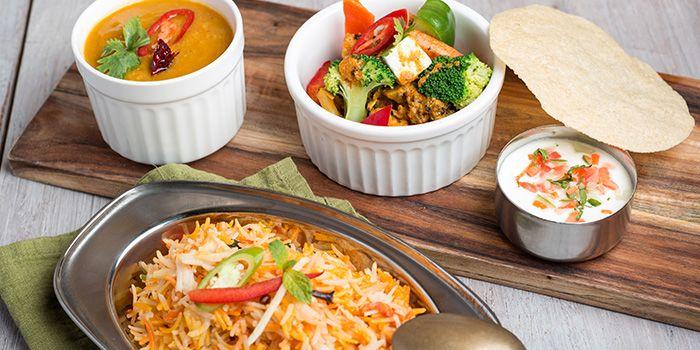 Vegetable Biryani from Zaffron Kitchen (Westgate) in Jurong East, Singapore from Zaffron Kitchen (Westgate) in Jurong East, Singapore