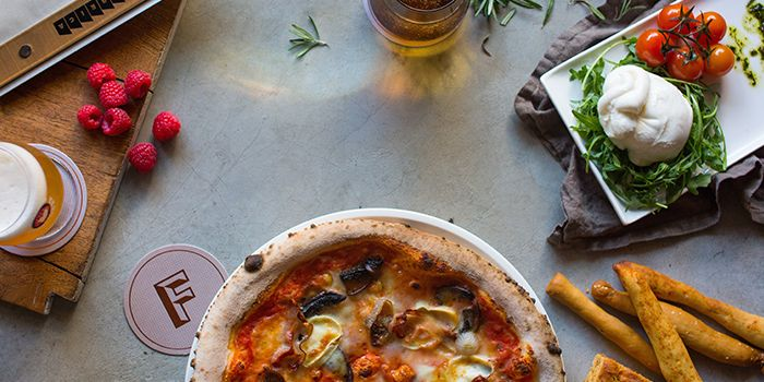 Pizza from Pizza Fabbrica in Bugis, Singapore