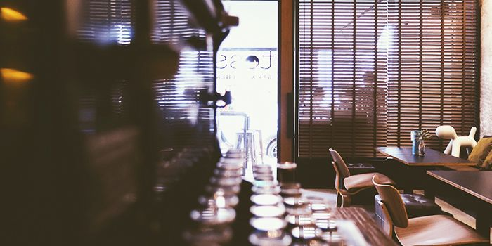 Interior of Tess Bar & Kitchen in Bugis, Singapore