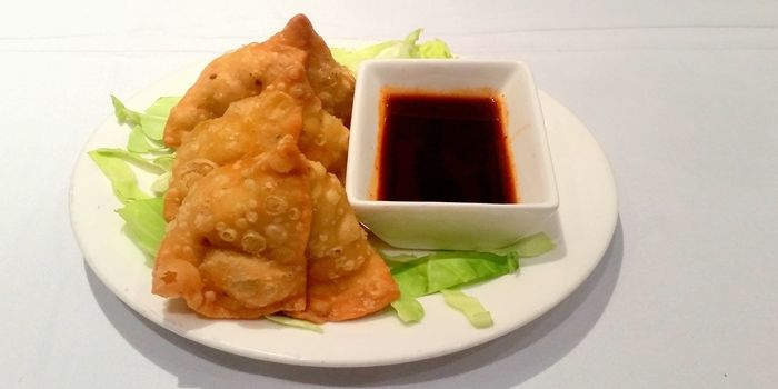 Vegetable Samosa of Legends of India, Tsim Sha Tsui, Hong Kong