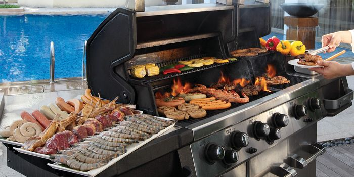 Barbeque from Cocobolo Poolside Bar + Grill at Park Hotel Clarke Quay in Robertson Quay, Singapore