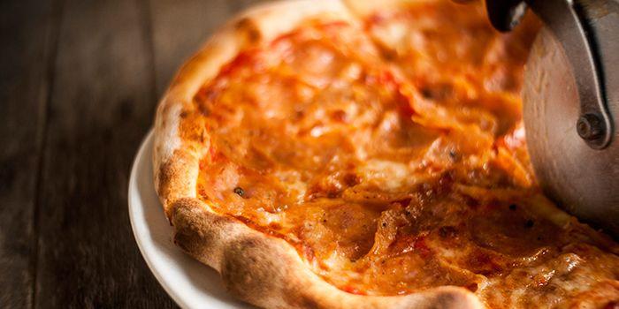 Pizza from La Forketta in Dempsey, Singapore