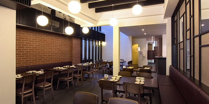 Interior of Red House Seafood (Prinsep) in Dhoby Ghaut, Singapore