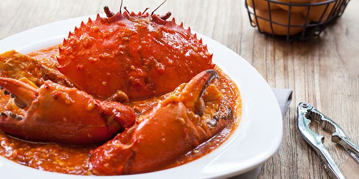 Chilli Crab from Red House (Prinsep) in Dhoby Ghaut, Singapore