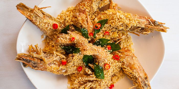 Crispy Cereal Prawns from Red House (Robertson Quay) in Robertson Quay, Singapore