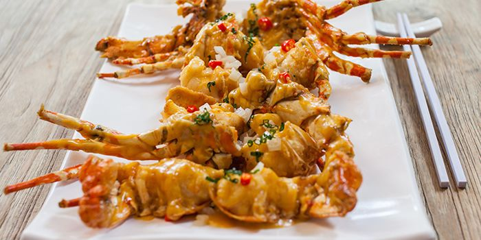 Signature Creamy Custard Lobster  from Red House (Grand Copthorne) in Robertson Quay, Singapore