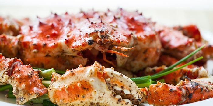 White Pepper Crab from Red House (Prinsep) in Dhoby Ghaut, Singapore