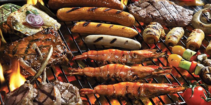 Seafood Barbeque from Cocobolo Poolside Bar + Grill at Park Hotel Clarke Quay in Robertson Quay, Singapore