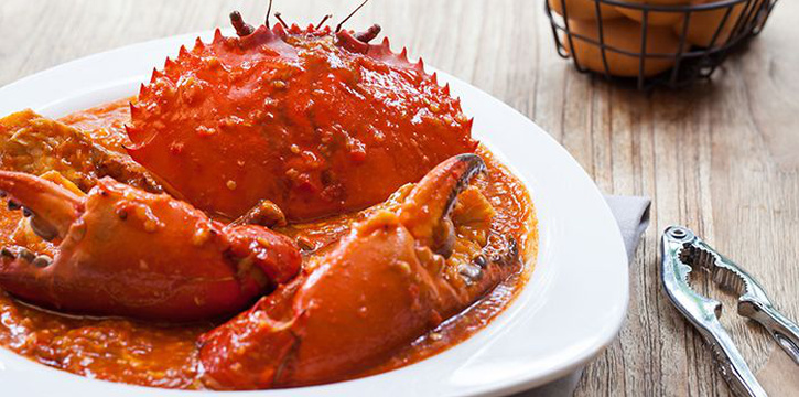 Chilli Stew Crab from Red House Seafood (Grand Copthorne) in Robertson Quay, Singapore