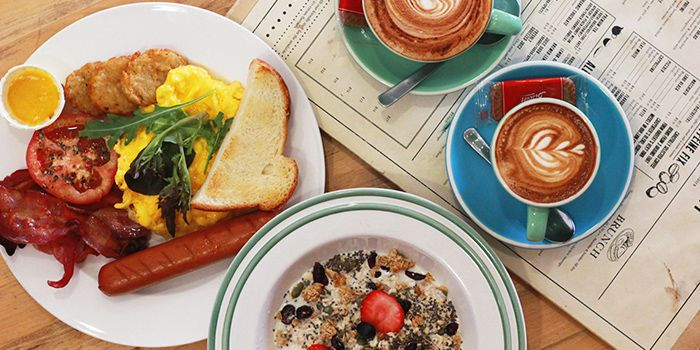 Breakfast Spread from Habitat Coffee on Upper Thomson Road in Singapore