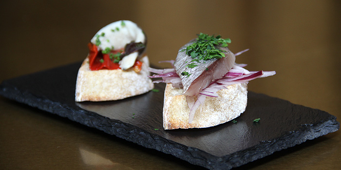Sardine with Red Onion & Parsley, Timon Seafood, Wan Chai, Hong Kong