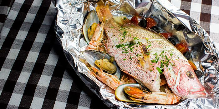 Whole Fish from Al Forno Italian Restaurant in East Coast, Singapore