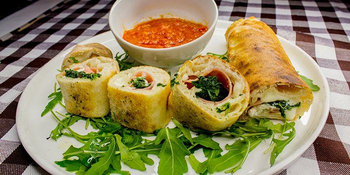 Pizza Rollo from Al Forno Italian Restaurant in East Coast, Singapore