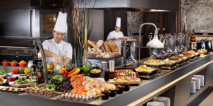 Weekday Buffet Lunch from Plate in Carlton City Hotel, Tanjong Pagar, Singapore