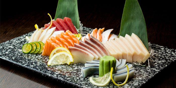 Sashimi Platter from Shin Minori Japanese Restaurant @ UE Square in Robertson Quay, Singapore