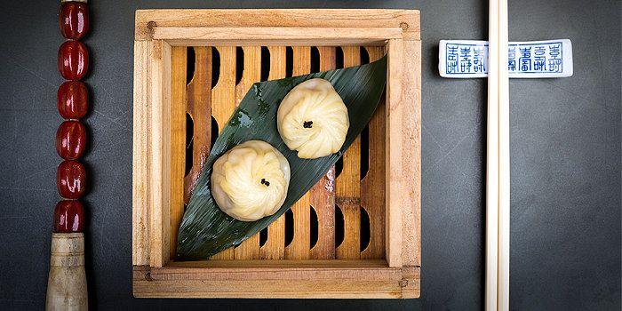 Foie Gras Xiao Long Bao, Man Mo Cafe, Shueng Wan, Hong Kong