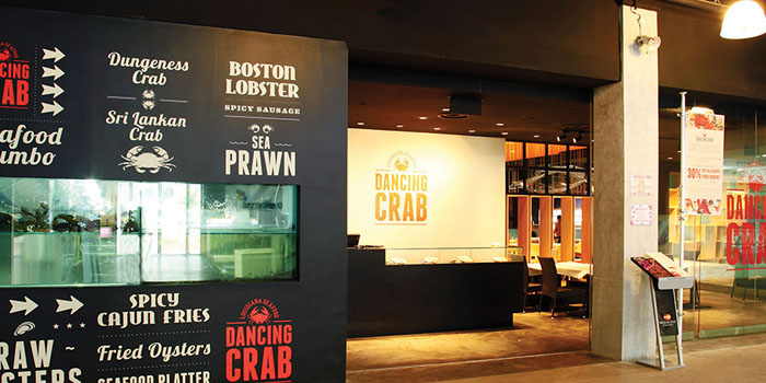 Exterior of Dancing Crab in Bukit Timah, Singapore