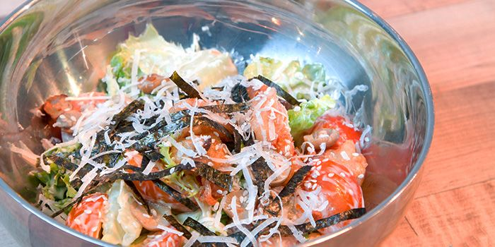 Frisee Salad from Sinpopo in Joo Chiat, Singapore
