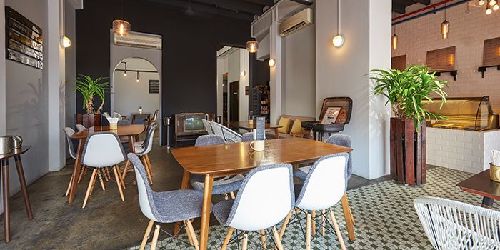 Dining Area of Sinpopo in Joo Chiat, Singapore