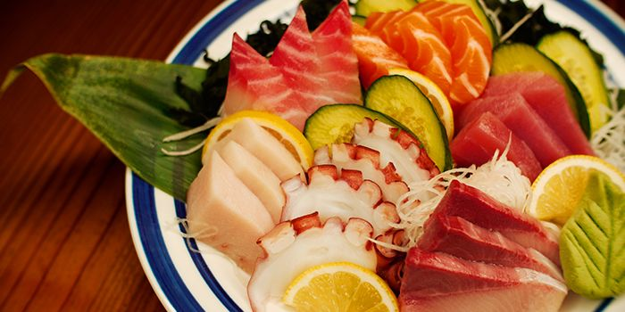 Sashimi Platter from Mitsuba Japanese Restaurant in Clarke Quay, Singapore