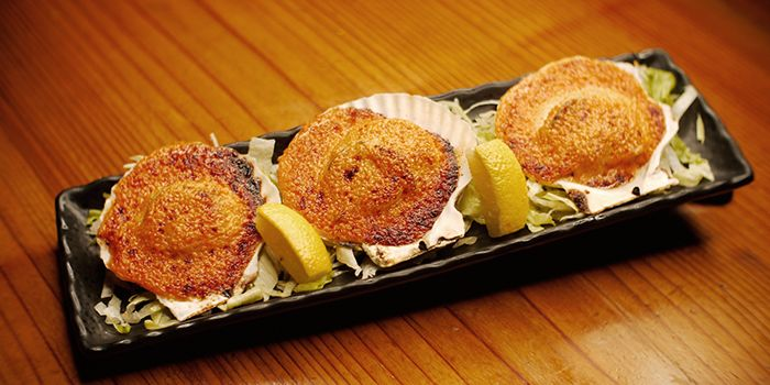 Scallops from Mitsuba Japanese Restaurant in Clarke Quay, Singapore
