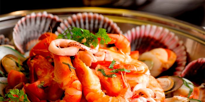 Seafood Salad from 21 on Rajah in Balestier, Singapore
