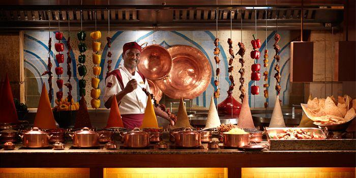 Indian selections, Cafe Kool, Kowloon Shangri-La, Tsim Sha Tsui East, Hong Kong