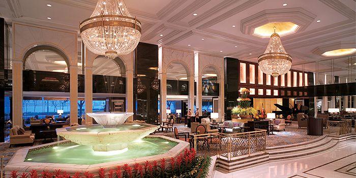 Exterior of Lobby Lounge, Kowloon Shangri-La, Tsim Sha Tsui East, Hong Kong