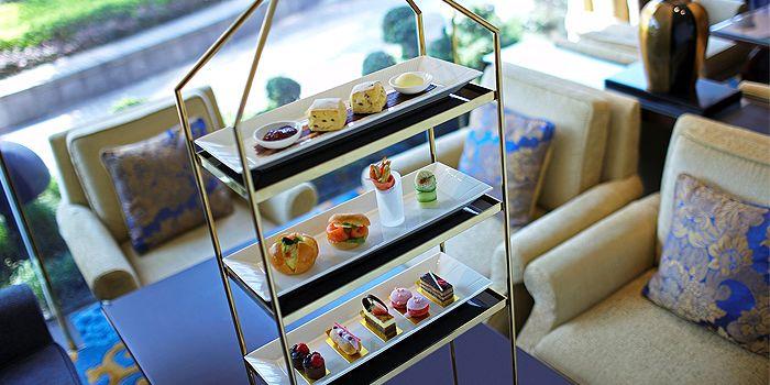 Tea Set, Lobby Lounge, Kowloon Shangri-La, Tsim Sha Tsui East, Hong Kong