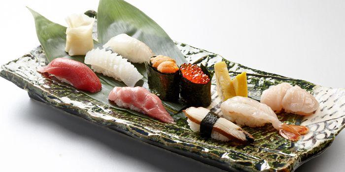Assorted Hokkaido Sushi, Nadaman, Kowloon Shangri-La, Tsim Sha Tsui East, Hong Kong