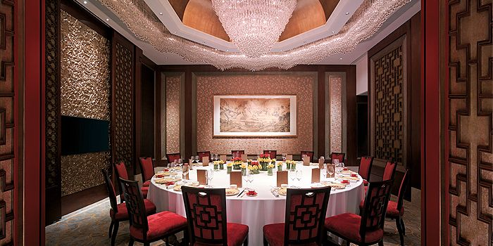 Grand Dining Room in Shang Palace in Kowloon Shangri-La in Tsim Sha Tsui East, Hong Kong