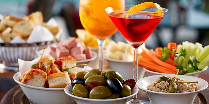Aperitivo Snacks from The Lighthouse in Fullerton, Singapore