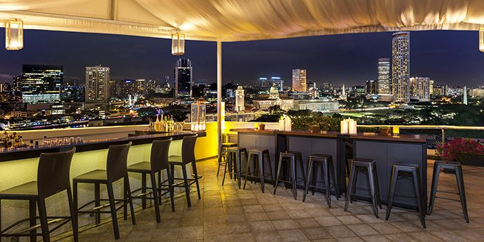 Bar Area of The Lighthouse in Fullerton, Singapore
