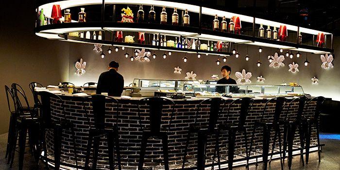Bar Area of Hana Restaurant in Orchard, Singapore