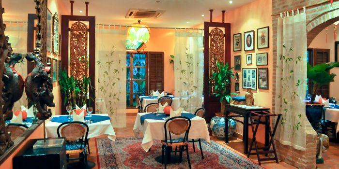 Dining Area of Le Dalat in Upper Sukhumvit, Bangkok