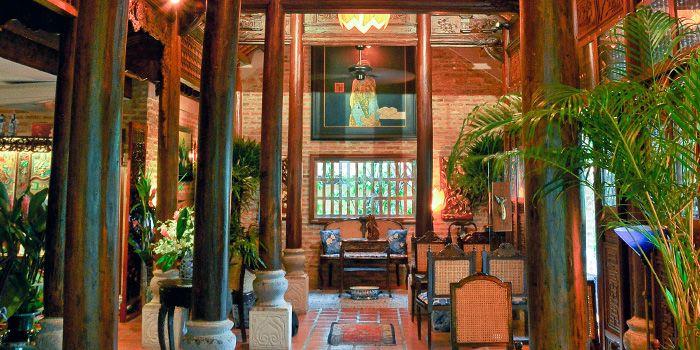 Interior of Le Dalat in Upper Sukhumvit, Bangkok