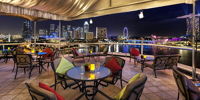 Rooftop of The Lighthouse in Fullerton, Singapore