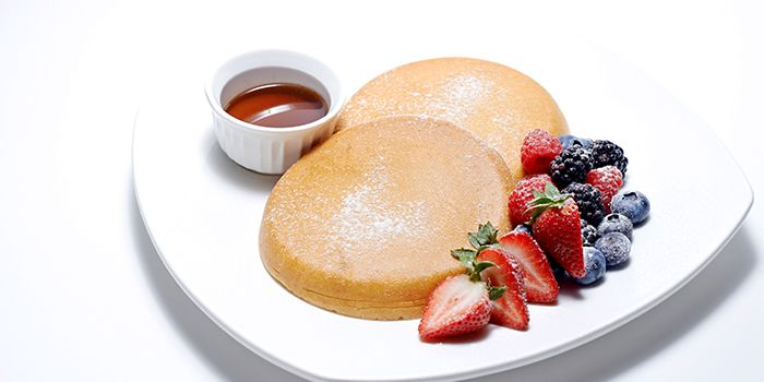 Pancakes from Benjamin Browns in Orchard, Singapore