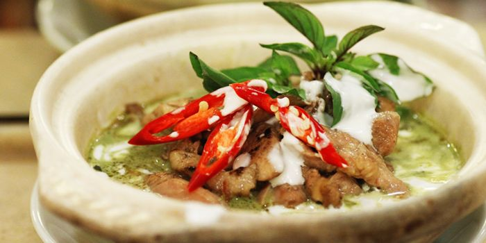 Green Curry Chicken from Rattana Thai Restaurant in Tanjong Pagar, Singapore