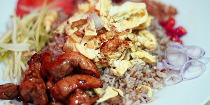 Thai Fried Rice from Rattana Thai Restaurant in Tanjong Pagar, Singapore