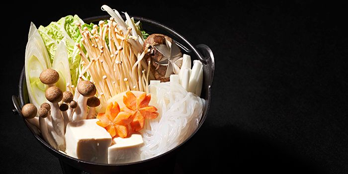Shabu Shabu from Hana Restaurant in Orchard, Singapore