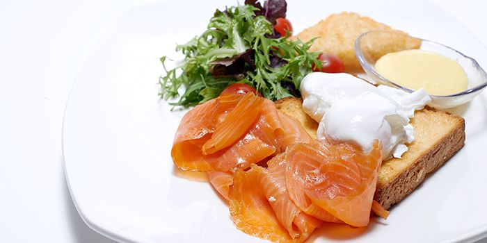 Smoked Salmon from Benjamin Browns in Orchard, Singapore